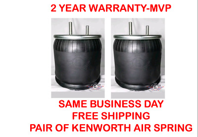 Pair of Air Springs for Kenworth Replaces Firestone W01-358-9422/K303-6&K303-14