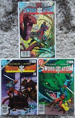Sword Of The Atom #1-3 (1983) DC! 1st Issues Of Mini-series! Affordable Copies!