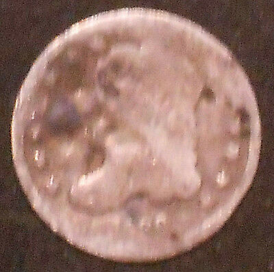 1836-P Capped Bust Silver Half Dime.  Free Shipping!!!!!!!!!!!!!!!!!