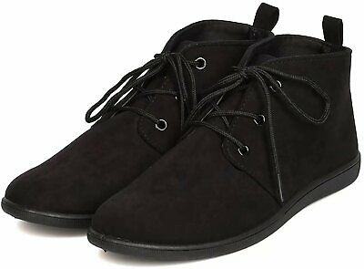 dd56d95b877c NEW Women Casual Lace Up Oxford Flat Heel Ankle Boots Booties Size 5.5 - 10