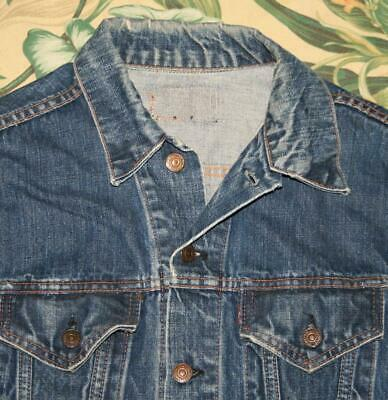 Vtg LEVIS BIG E Denim Jacket Small S/M