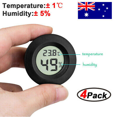 4X Mini LCD Digital Thermometer Hygrometer Indoor Temperature Humidity Meter