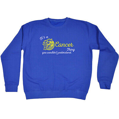 Funny Kids Childrens Sweatshirt Jumper - Star Sign Its A Cancer Thing You Wouldn