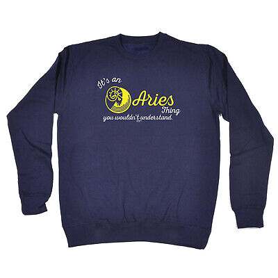 Funny Kids Childrens Sweatshirt Jumper - Star Sign Its An Aries Thing You Wouldn