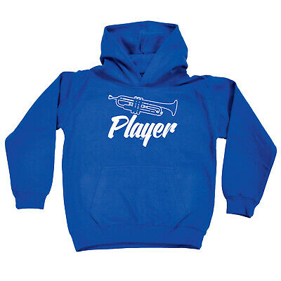 Funny Kids Childrens Hoodie Hoody - Trumpet Player