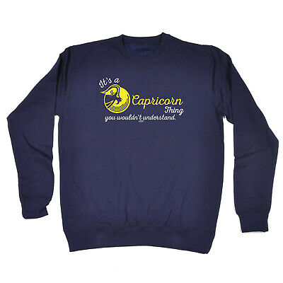 Funny Kids Childrens Sweatshirt Jumper - Star Sign Its A Capricorn Thing You Wou