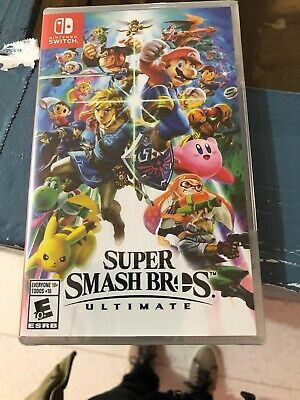 Super Smash Bros. Ultimate for Nintendo switch **Brand New/Factory Sealed**