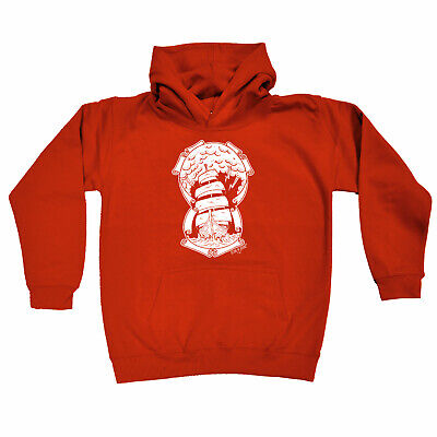 Sailing Kids Childrens Hoodie Hoody Funny - Ship Through The Storm