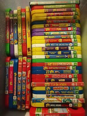 Children's DVD's mostly Wiggles, ABC Kids