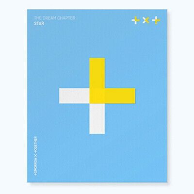 TXT THE DREAM CHAPTER:STAR Album CD+POSTER+Photo Book+3p Card+2ea Sticker SEALED