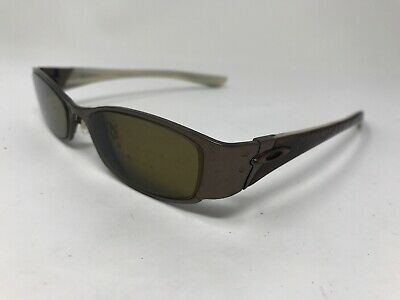 d42a9fd61350 Oakley Womens Coto 4.0 Eyeglasses Titanium 51-15-130 Polished Chocolate TH36
