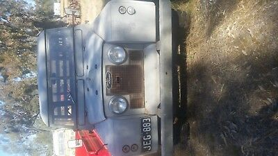Land Rover Tray Ute 1966, No Reg, Has Original Plates, Restoration Project