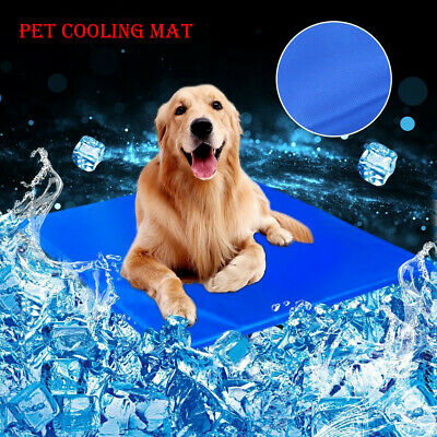 Dog Cooling Mat Pet Cat Chilly Summer Cool Gel Bed Puppy Heat Relief Pad Cooler