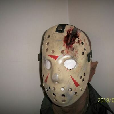 Jason Mask Part 4, Friday the 13th, Jason Mask, Accurate detailed, Prop
