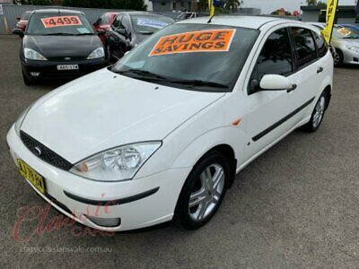 2004 Ford Focus LR CL White Automatic 4sp A Hatchback