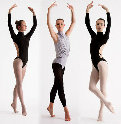69fdc55d381 Ladies Ballet Dance Tights Silky Essentials Footed Convertible Footless S M  L