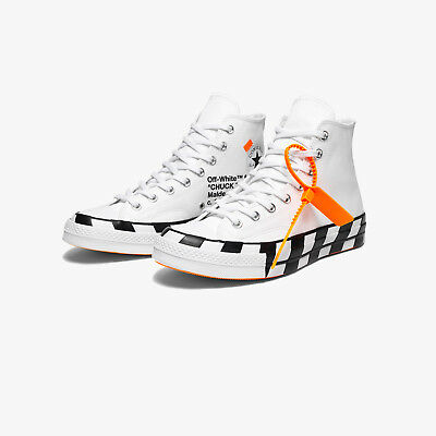 d5436d0c6bc6e7 Converse Chuck Taylor All-Star 70s Hi Off-White Virgil Abloh Checkered Sole  7