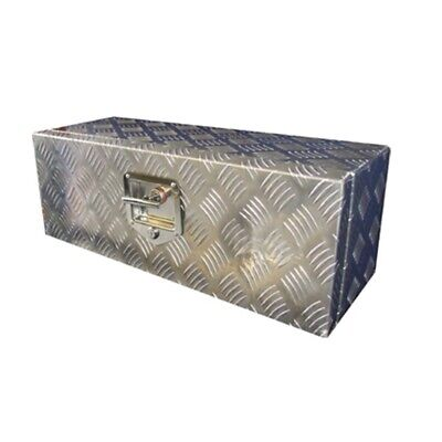 Trailer Pick Up Toolbox Aluminium Checker Plate 26 x 9 x 9 inch