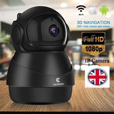 1080 IP Camera WiFi Home Security Surveillance Wireless Night Vision Pet Monitor