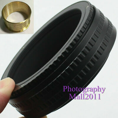 Brass M65 to M65 25mm-55mm Adjustable Focusing Helicoid Adapter Extension Tube
