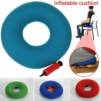 Round Inflatable Ring Medical Seat Cushion Donut Air Pillow For Hemorrhoid