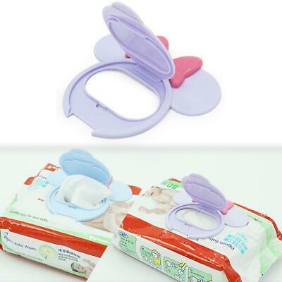 Newborn Baby Wet Wipe Cleaning Tissue Cute Reuseable Cartoon Wet Wipes Lid Cover