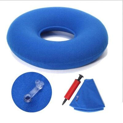 Inflatable Rubber Ring Round Seat Cushion Medical Hemorrhoid Pillows Donut Good
