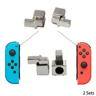 2 sets Alloy Left + Right Buckles Lock For NS Nintendo Switch Joy-Con Controller
