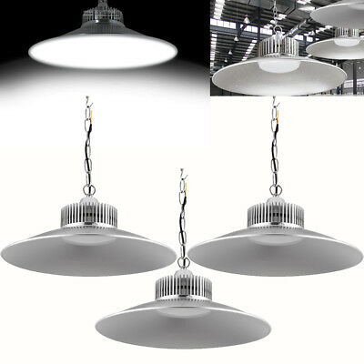 3X 150W LED High Bay Light Factory Warehouse Lamp Industrial Lighting With Chain