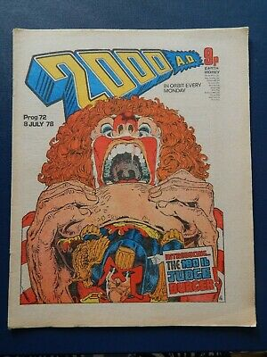 2000 A.d. - Prog # 72 - Banned Issue - 8 July 1978
