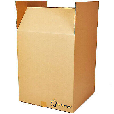 5x Extra Large (XXL) Cardboard Boxes - Strong Double Wall Removal Moving Boxes