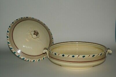 Grays Pottery - Hand Painted ART DECO Tureen & cover - patt. A986 c.1933