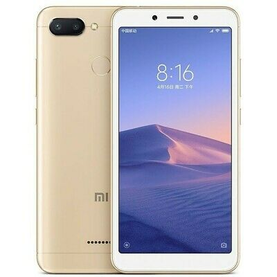Xiaomi Redmi 6 Versión Global Dorado 3GB/32GB