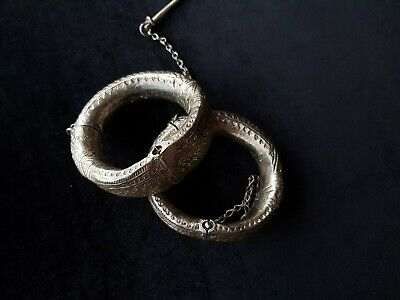 Anklets and Bracelets Silver Rare from Oman Bedouin Ware (504)
