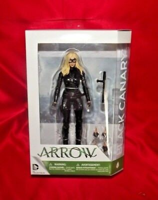"DC Collectibles Black Canary 6"" Inch Action Figure Arrow"