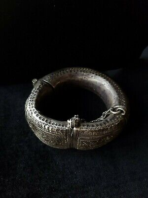 Anklets and Bracelets Silver Rare from Oman Bedouin Ware (517)