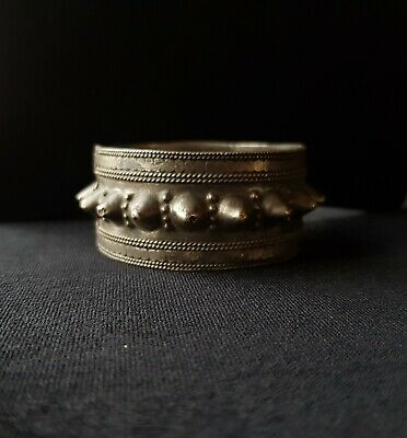 Anklets and Bracelets Silver Rare from Oman Bedouin Ware (523)