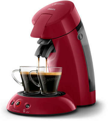 PHILIPS SENSEO HD6554/91 Machine à café à dosettes 2 tasses Crema plus rouge