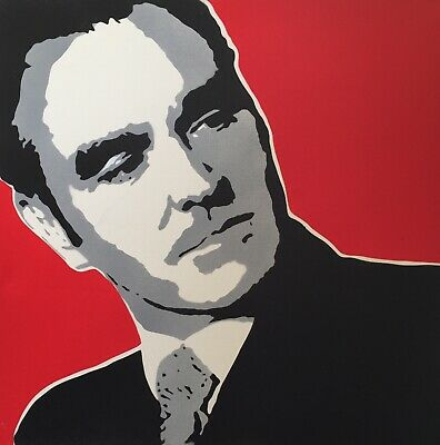 Morrissey The Smiths original stencil screen print on canvas You Are The  Quarry