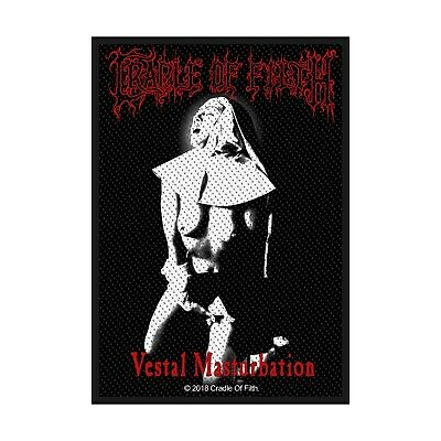 Cradle Of Filth vestal mast 10x8cm patch Lizenziert