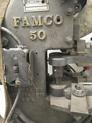 Famco 50 Punch press