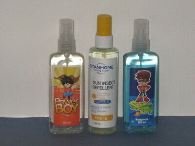 Stanhome Frag Boys Set X 3 (Power Edt+Sun Insect Rep Spray + Space Edt) New