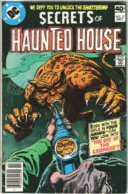 Secrets of Haunted House Comic Book #17 DC Comics 1979 VERY FINE-