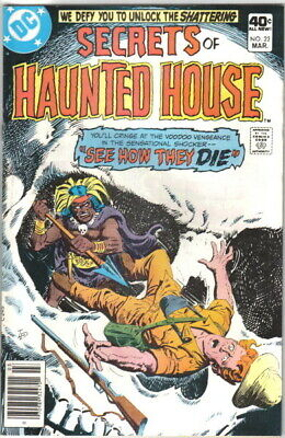 Secrets of Haunted House Comic Book #22 DC Comics 1980 VERY FINE