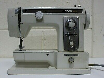 JONES Model 865 Semi Industrial Sewing Machine w/ Foot Pedal + Cover - 250