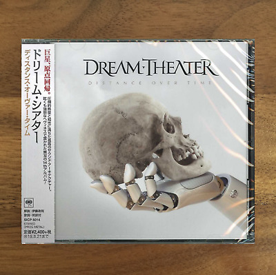 Japan Promo Clear File + Cd With Obi! Dream Theater Distance Over Time 2019