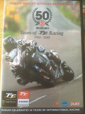 Isle of Man TT - Official Review 2010  Motorcycle Racing - 50 Years - MINT DVD