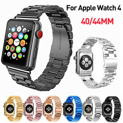 For Apple Watch iWatch 4 Stainless Steel Band Metal Link Bracelet Strap 40/44mm
