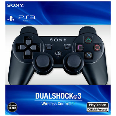 Gift Original Official SonyPlay Station 3 Controller Wireless Dualshock 3 Black