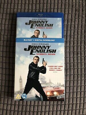 Johnny English Strikes Again Blu Ray New And Sealed